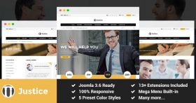 SJ Justice - Premium Attorney & Law Firm Joomla Template