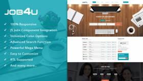 Sj Job4u v3.0.0 with Joomla 3.8.6 and JS Jobs 1.2.1 - r Compatible