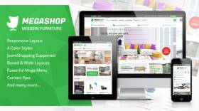 SJ MegaShop - Best of JoomShopping Joomla template
