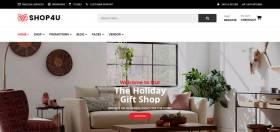 Shop4U Free - Free Multi Vendor MarketPlace WordPress Theme