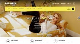 DresShop Free - Free Fashion WordPress Theme