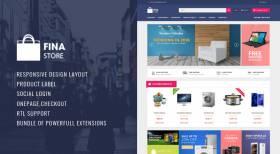 Fina - Responsive Multipurpose OpenCart Theme