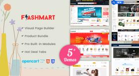 Design #5 Added in FlastMart Supermarket OpenCart Theme
