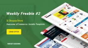 SmartAddons Weekly Freebie #2: Grab Sj ShoppyStore Template Package For Free