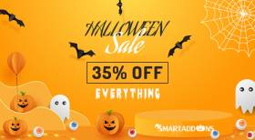 Halloween 2021 Sale! 35% OFF On All Products & Subscriptions
