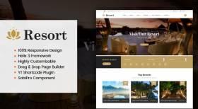 Sj Resort II - Luxury Hotel & Resort Responsive Joomla Template