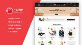 So TShop - The Best eCommerce Template for OpenCart 3