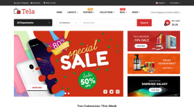 So Tela - An Outstanding Responsive OpenCart 3 Theme