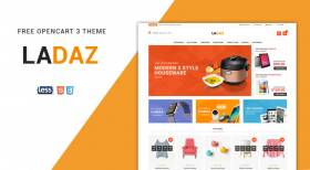 So Ladaz - Free Responsive Multipurpose OpenCart 3 Theme