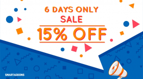 Enjoy New Template Release Offer: 15% OFF on Everything!