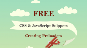 Top 8 Free & Beautiful CSS & JavaScript Snippets for Creating Animated Loaders