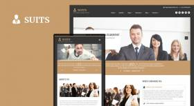 Sj Suits - Lawyer Joomla Template For Law Firms