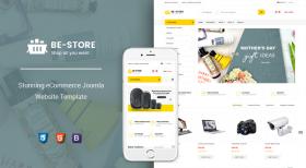 Sj BeStore - Multipurpose Joomla eCommerce Template