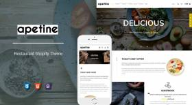 Apetine - Responsive Restaurant Sections Theme