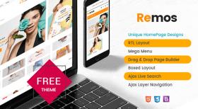 Remos - Free Responsive Multipurpose Theme