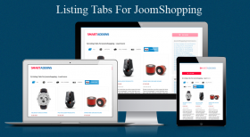Sj Listing Tabs for JoomShopping - Responsive Joomla! Module