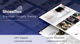 ShoesMax - Minimal Shoes Store Sections Theme