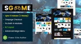 SGame- Responsive Accessories Store OpenCart 3 Theme