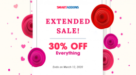 Women's Day 2020 Sale Extended: 30% OFF Everything