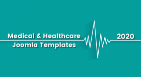 2020's Medical & Healthcare Joomla Templates