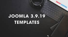 Joomla Templates Updated to Joomla 3.9.19