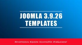 Joomla Templates Updated for Latest Joomla 3.9.26