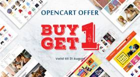 Buy One OpenCart Theme, Download One for Free