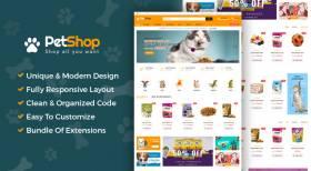Sj PetShop - Pet Food, Pet Shop Joomla Template