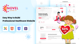 Sj Novel - Medical & Healthcare Joomla Template | 50% OFF Intro Sale