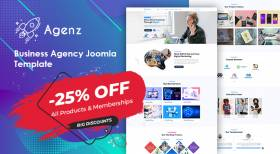 Sj Agenz - Creative Agency Joomla Template Release | 25% OFF All Products
