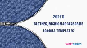 10 Best Clothes & Fashion Accessories Joomla Templates