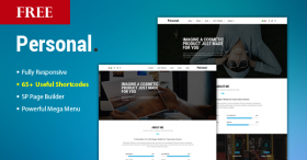 Free Download Ultimate Multi-Purpose Joomla Template - Sj Personal