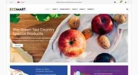 EcoMart - Organic Food Store WooCommerce WordPress Theme