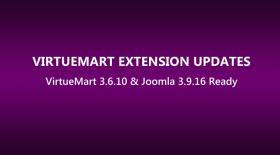 VirtueMart Extensions Updated to Latest VirtueMart 3.6.10 & Joomla 3.9.16