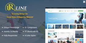 SJ Urline - A Super Clean Joomla Template for Travel News & Magazine