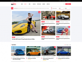 [PREVIEW] Sj AutoNews - Cars News, Cars Review Joomla Template