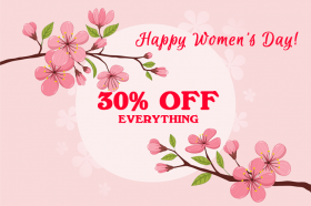 Happy Women's Day 2019: Enjoy 30% OFF Offer on Storewide