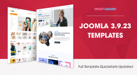 Joomla Templates Updated for Joomla 3.9.23