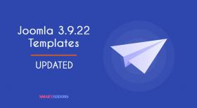 Joomla Templates Updated for Joomla 3.9.22