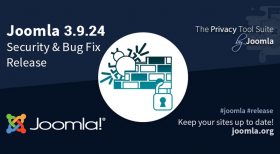 Joomla 3.9.24 Security and Bug Fix Release