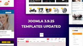 Joomla Templates Updated to Joomla 3.9.25