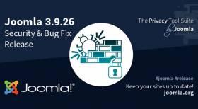 Joomla 3.9.26 Security and Bug Fix Release