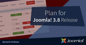 Plan for the Joomla! 3.8 Release