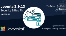 Joomla 3.9.13 Security & Bug Fix Release