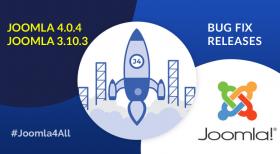 Joomla 4.0.4 and Joomla 3.10.3 Bug Fix Releases