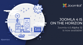 Joomla 4.0 Alpha 12 is Out