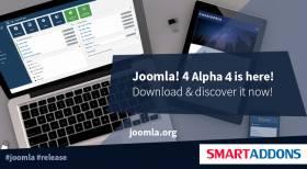 Joomla 4.0 Alpha 4 is Ready