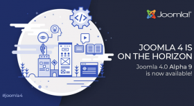 Joomla 4.0 Alpha 9 is Here