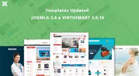 [SmartAddons] 10+ Joomla Templates Updated for Joomla 3.6 & VirtueMart 3.0.16