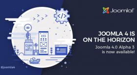Joomla! 4 Alpha 3 Release
